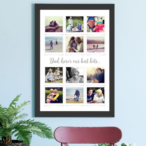 Personalised Father's Day Photo Collage